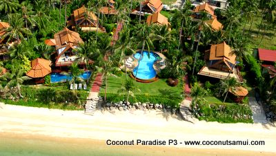 Coconut Paradise resort.