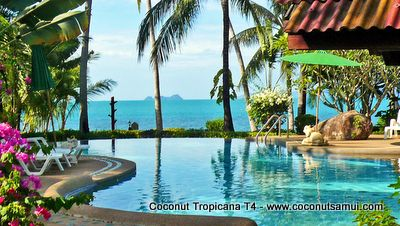 Coconut Tropicana Resort Koh Samui - Beachfront holiday paradise .
