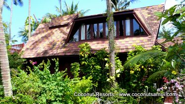 samui holiday villa coconut village b5