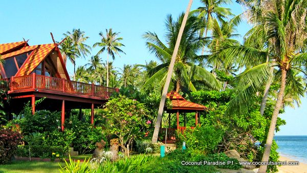 Beachfront holiday villa P1 - first and foremost.