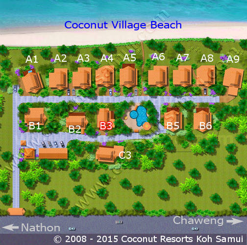 Coconut Village Map